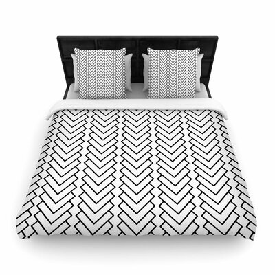 Trebam Kamara Woven Duvet Cover Size: Full/Queen