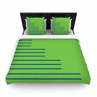 Trebam Stepenice V.3 Pattern Woven Duvet Cover Size: Twin