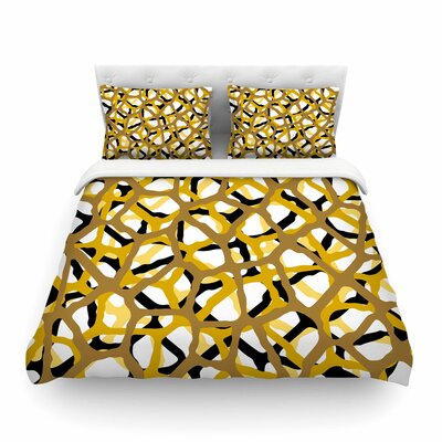 Trebam Staklen V.2 Digital Featherweight Duvet Cover Size: King