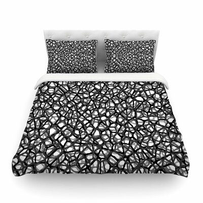Trebam Staklo Digital Featherweight Duvet Cover Size: King
