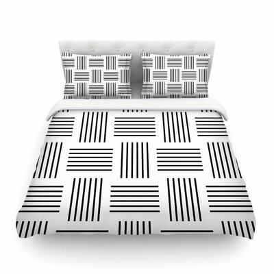 Trebam Postrance Digital Featherweight Duvet Cover Size: King