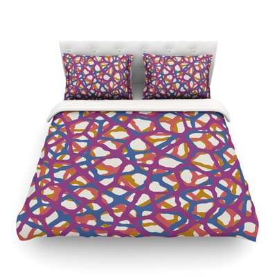 Trebam Staklen Digital Featherweight Duvet Cover Size: Twin