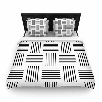 Trebam Postrance Digital Woven Duvet Cover Size: Full/Queen