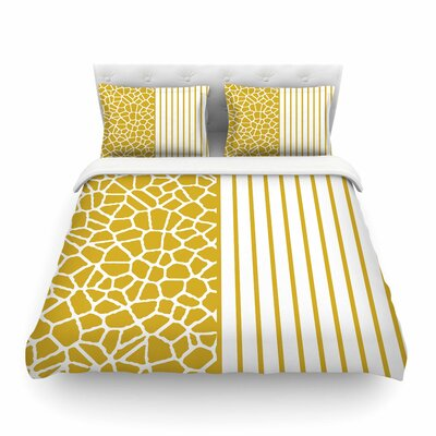 Trebam Staklo Digital Featherweight Duvet Cover Size: Twin