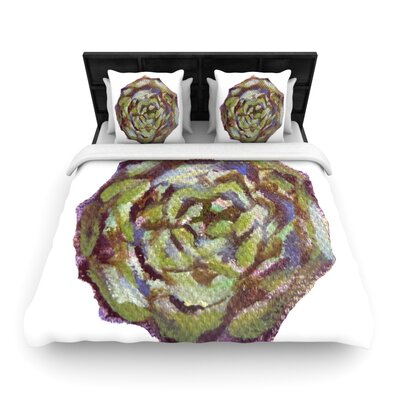 Theresa Giolzetti Artichoke Woven Duvet Cover Size: Full/Queen