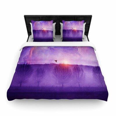 Viviana Gonzalez Orion Nebula Woven Duvet Cover