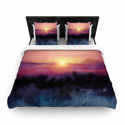 Viviana Gonzalez Calling the Sun IV Woven Duvet Cover Size: Full/Queen