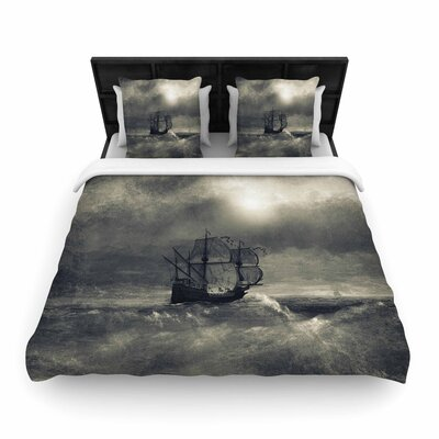 Viviana Gonzalez Chapter III Ship Woven Duvet Cover Size: Full/Queen