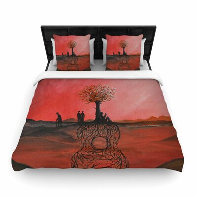 Viviana Gonzalez Art Name Woven Duvet Cover