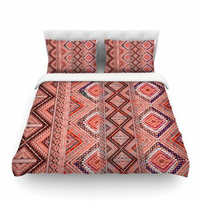 Victoria Krupp Native American Art Illustration Featherweight Duvet Cover Size: King
