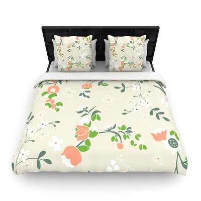 Very Sarie Early Waking Floral Woven Duvet Cover