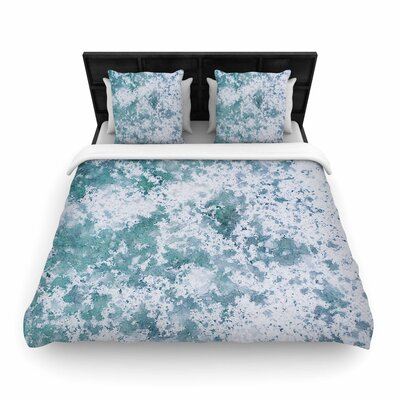 Will Wild Frost Nature Woven Duvet Cover Size: King