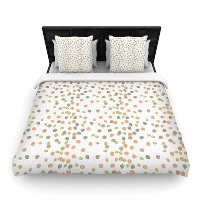 Yenty Jap Autumn Spots Woven Duvet Cover Size: Full/Queen