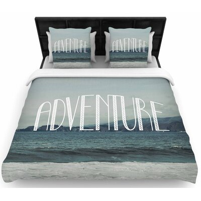 Chelsea Victoria Adventure Photography Woven Duvet Cover Size: King