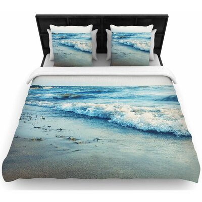 Chelsea Victoria Beyond the Sea Woven Duvet Cover Size: King