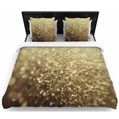 Chelsea Victoria 'Glitterati' Photography Woven Duvet Cover Size: Full/Queen