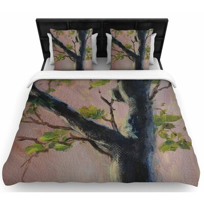 Cyndi Steen Aussie Tree Woven Duvet Cover Size: Full/Queen