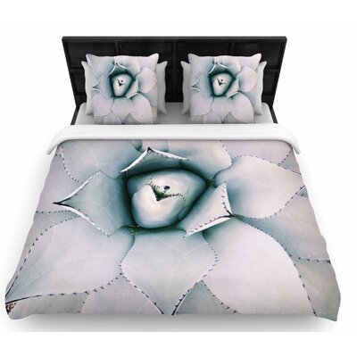 Chelsea Victoria Northern Star Floral Woven Duvet Cover Size: King