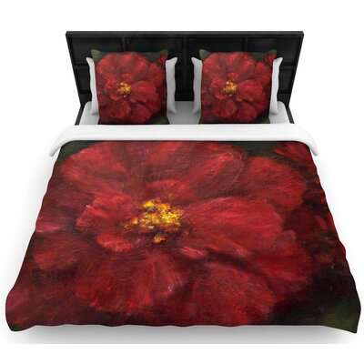 Cyndi Steen My Beauty Woven Duvet Cover Size: Full/Queen