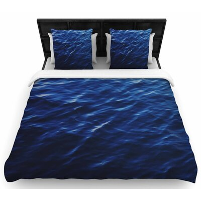 Chelsea Victoria Sea Calm Woven Duvet Cover Size: Full/Queen