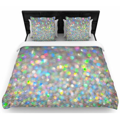 Chelsea Victoria Sparks Fly Digital Woven Duvet Cover Size: King