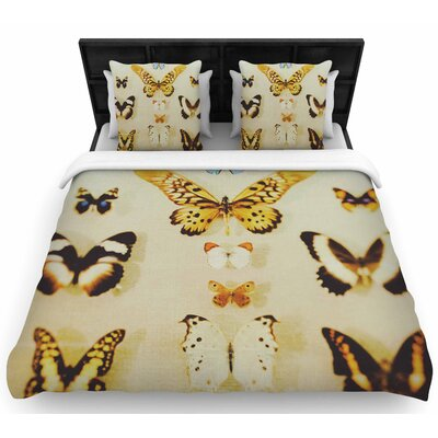 Chelsea Victoria The Butterfly Collection Photography Woven Duvet Cover Size: Twin