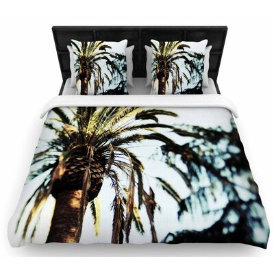 Chelsea Victoria Tropico Photography Woven Duvet Cover Size: Twin