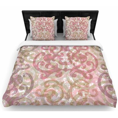 Chickaprint Chintz Woven Duvet Cover Size: King