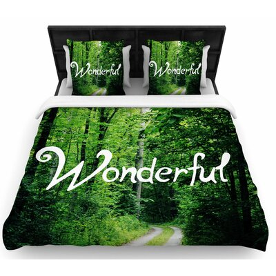 Chlesea Victoria Wonderful Woven Duvet Cover Size: Twin
