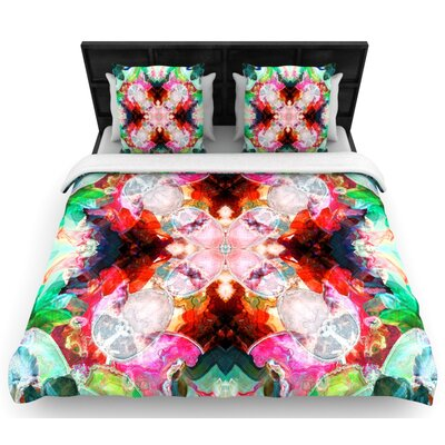 Danii Pollehn Achat I Woven Duvet Cover Size: Twin