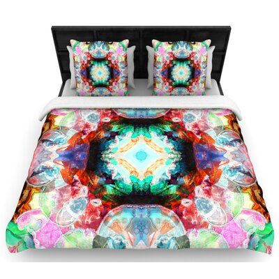 Danii Pollehn Achat II Woven Duvet Cover Size: Full/Queen