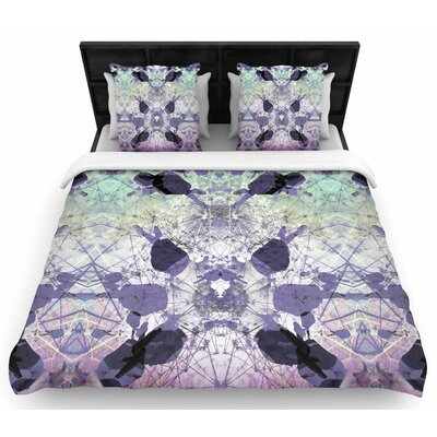 Danii Pollehn Geometrical Jumper Geometric Woven Duvet Cover Size: Full/Queen