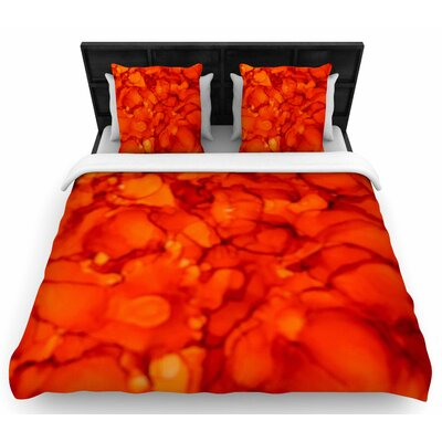 Claire Day Woven Duvet Cover Size: Twin