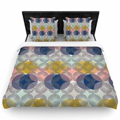 Maike Thoma Retro Spring Woven Duvet Cover Size: King