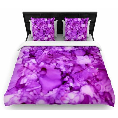 Claire Day Woven Duvet Cover Size: King