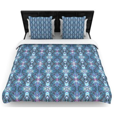 Danii Pollehn Native Pattern Geometric Woven Duvet Cover Size: Twin