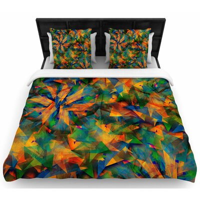 Danny Ivan No Way Out Woven Duvet Cover Size: Full/Queen