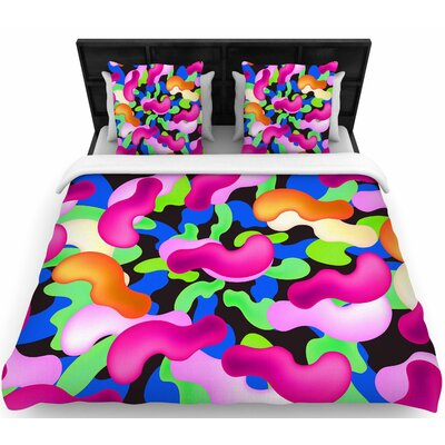Danny Ivan Thing Woven Duvet Cover Size: Full/Queen