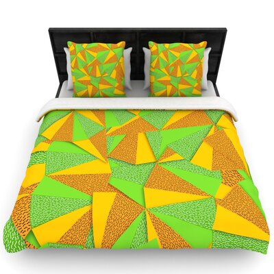 Danny Ivan This Side Woven Duvet Cover Size: Full/Queen