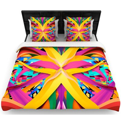 Danny Ivan Tropical Fun Woven Duvet Cover Size: Twin