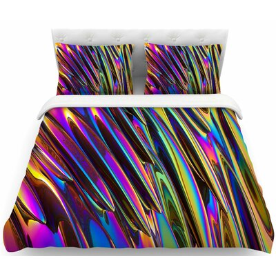 Danny Ivan Twist  Featherweight Duvet Cover Size: Twin