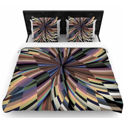 Danny Ivan Love Affair Geometric Woven Duvet Cover Size: Twin