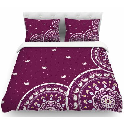 Cristina Bianco Mandalas Featherweight Duvet Cover Size: Twin