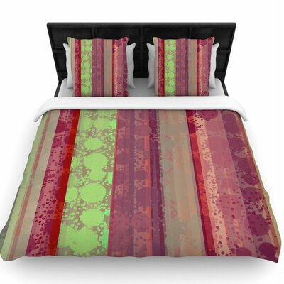 Cvetelina Todorova Magic Carpet Woven Duvet Cover Size: King