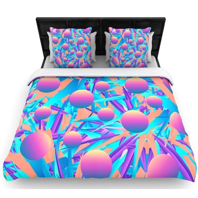 Danny Ivan Blind Face Woven Duvet Cover Size: Full/Queen