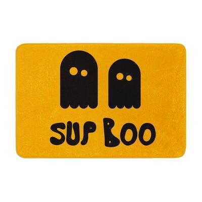 Sup Boo Memory Foam Bath Rug Size: 0.5 H x 24 W x 36 D
