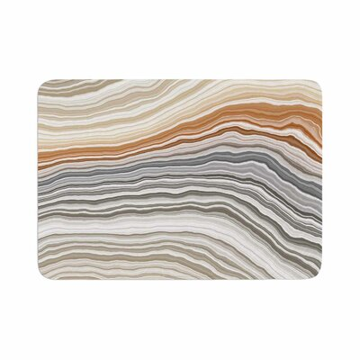 Vernal Pools Memory Foam Bath Rug Size: 0.5 H x 24 W x 36 D