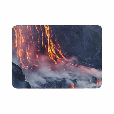 Lava Memory Foam Bath Rug Size: 0.5 H x 17 W x 24 D