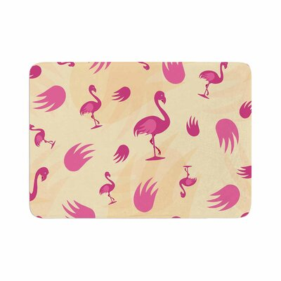 Wingin It Animals Memory Foam Bath Rug Size: 0.5 H x 17 W x 24 D