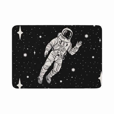 Space Adventurer Fantasy Memory Foam Bath Rug Size: 0.5 H x 24 W x 36 D